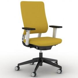 Fauteuil de bureau Ergonomique et Design Drumback jaune