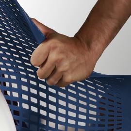 Fauteuil de bureau Ergonomique et Design Sayl bleu