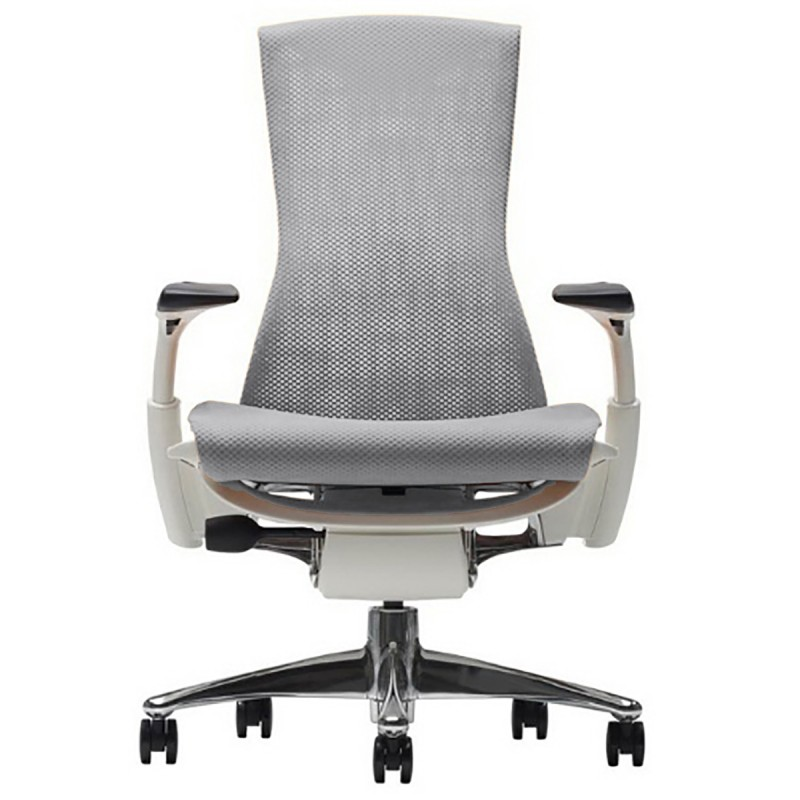 Fauteuil de Bureau Design Embody d'Herman Miller en coloris gris.