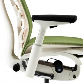 Fauteuil de Bureau Design Embody d'Herman Miller en coloris vert.