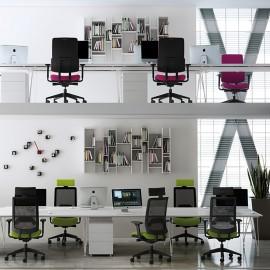Fauteuil de bureau Ergonomique et Design Wi-Max Résille