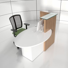 Banque d'accueil Design Ovo de MDD.