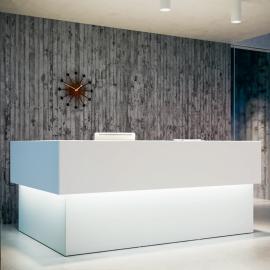 Banque d'accueil Design Quaranta 5 de FANTONI.