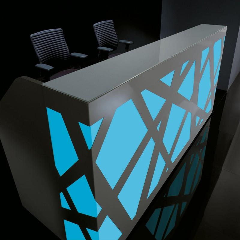 Banque d'accueil Design ZigZag de MDD.