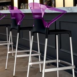 Photo d'ambiance Tabouret Design et Ergonomique Ego-K Stool de PAPATYA coloris rose.
