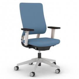 Fauteuil de bureau Ergonomique et Design Drumback bleu