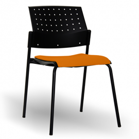 Chaise de réunion Design Taki orange