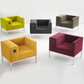 Siège Design BOLD de Buronomic en coloris différents coloris