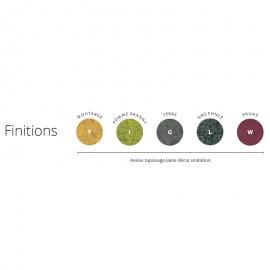 Les 5 finitions disponibles pour le siège Design BOLD de Buronomic