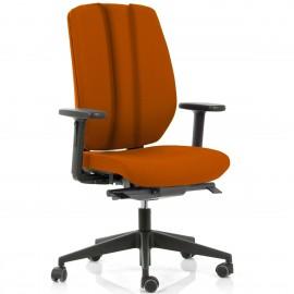 Fauteuil de bureau Ergonomique Artech Ergo en coloris orange