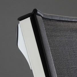 Fauteuil de bureau Design et Ergonomique Nulite Pro en résille noir
