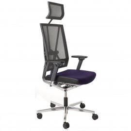 Fauteuil de direction Design et Ergonomique Scope violet
