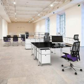 Fauteuil de direction Design et Ergonomique Scope violet
