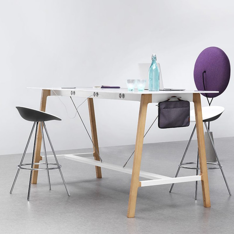 La table haute électrifiée SILTA d'ALLERMUIR.